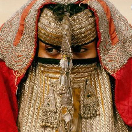 Rashaida Veil. Photo Credit Beckwith. Fisherff