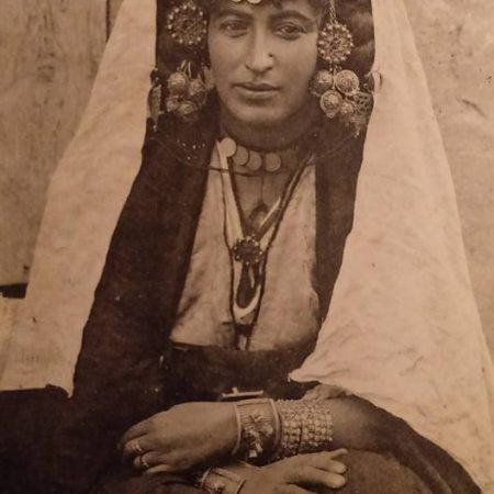 Postcard – Algeria. Ouled Nail Woman