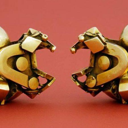 Pampadam earrings – India