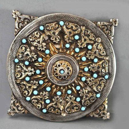 Silver disk – Turkmenistan