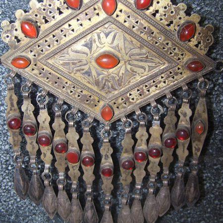 Breast plate – Turkmenistan