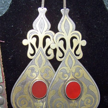 Earrings – Turkmenistan