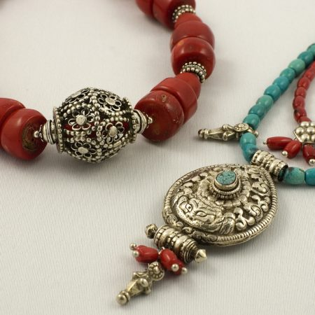 Necklaces – India/Tibet