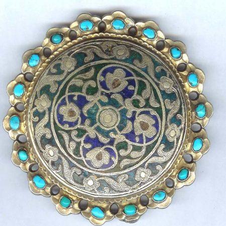 Belt Ornament – Uzbekistan