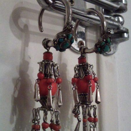 Earrings – Tibet