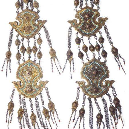 Ear Ornaments – Uzbekistan