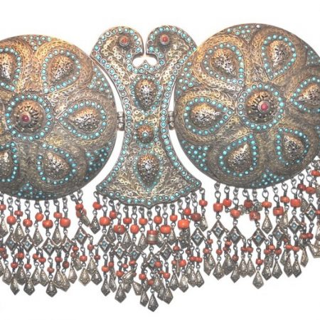 Head dress – Uzbekistan