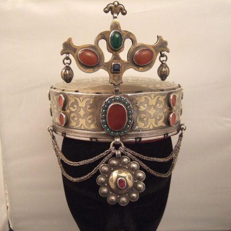 Head dress – Turkmenistan